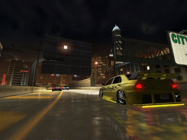 Need For Speed UNDERGROUND 2 + pLan