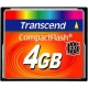 Transcend 4GB CF Card (133X)  - TS4GCF133